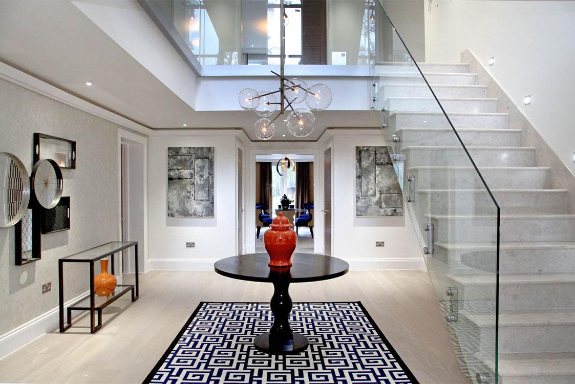 Queen Acre Hallway